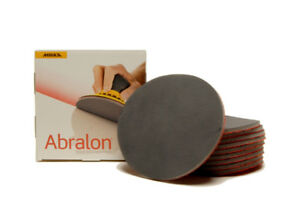 Mirka Abralon 6 Sanding Discs Combo Pack 10 Pads Your Choice