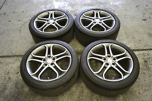 Mercedes Benz Cls550 18 Oem Wheels And Continental Contipro Tires