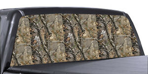 Realtree Camo Rear Window Perforated Decal Tint Graphic Sticker Truck Van Suv