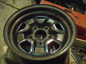 1968 To 1975 Oldsmobile Cutlass 442 455 Hurst Convertible 14x7 Rally Wheel Rim