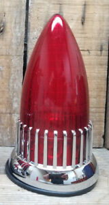 1959 Cadillac Tail Light Flush Mount Vtg Hot Rod Rat Custom Lowrider Bomb Vw Van
