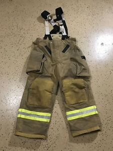 Veridian Firefighter Suits Fire Turnout Pants Bunker Gear 40 28 04 2015