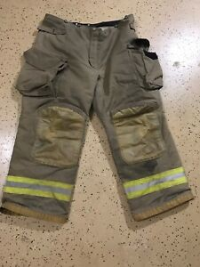 Janesville Firefighter Suits Fire Turnout Pants Bunker Gear 40 R 30 01 2014