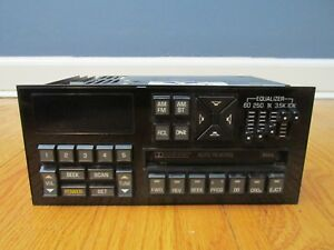 Vintage Delco Am fm Cassette Radio Model 16072833 Dolby Equalizer Gm Chevy Buick