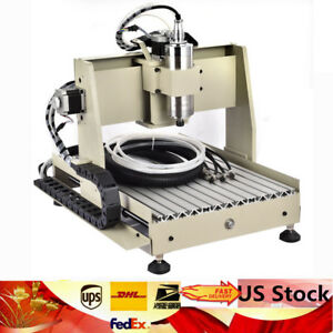Sale 4 Axis 800w Cnc 3040 Router Engraver Kit Wood Carving Engraving Machine