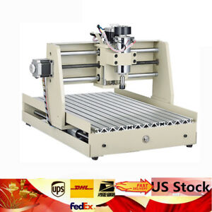 400w Cnc Router Engraver Engraving 3d Cutter 3 Axis 3040 Desktop Stepping Motor