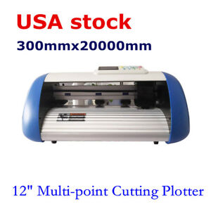 Us Stock 12 Multi point Automatic Patrol Contour Cutting Plotter