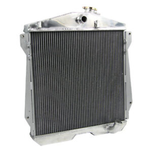 4 Row Aluminum Radiator For 1943 1948 1947 1946 45 Chevy Dj Dr Bl Cars 3 5 3 8l