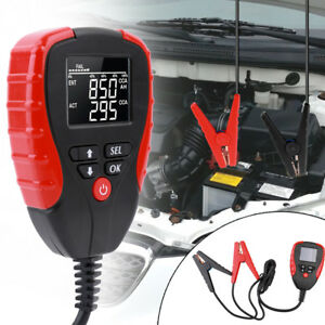 12v Lcd Digital Car Battery Analyzers Auto System Battery Voltage Testers B4b8