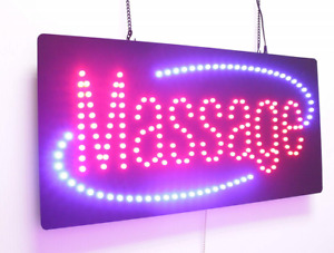 Massage Sign Super Bright High Quality Led Open Store Business Windows