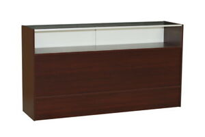Cherry Jewelry 6 Foot Showcase Display Case With Storage