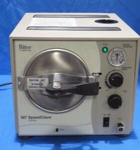 Ritter M7 Speedclave Autoclave Sterilizer With New Style Fill Valve