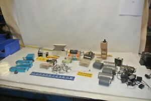 Lot Of Electrical Electronic Capacitors Components Industrial Tool Free Ship