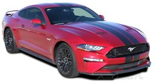 2018 2021 Ford Mustang Racing Stripes Stage Rally Vinyl Graphics 3m Decals Kit