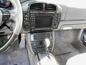2001 Porsche 996 Real Carbon Fiber Dash Trim Kit