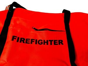 Chief Supply Firefighter Bag Gear Turnout Xl Rev B Pn 8470 03 red Nob