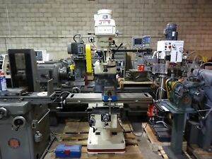 Jet 690107 Jtm 4vs Milling Machine With Acurite Vue Dro Tpfa X axis