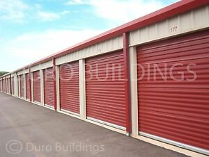 Duro Steel Mini Self Storage Structure 30x140x12 Metal Prefab Buildings Direct