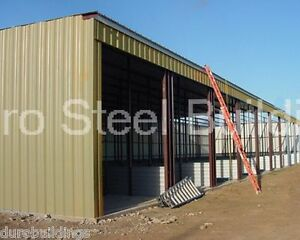 Durobeam Steel 30x60x12 Metal Building Kits Prefab Auto Body Garage Shop Direct
