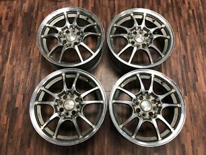 Fit For Jdm Mugen 15 4x100 6 5j Off45 Mf10 Mf8 Wheel Japan Rim Forged Eg6 Ef Ek