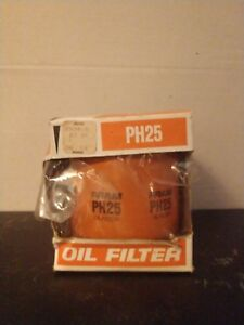 Fram Oil Filter Ph25 Vintage Box