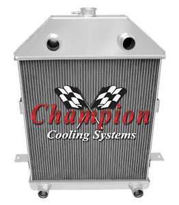 3 Row Best Cooling Champion Radiator For 1941 Ford Truck Flathead Configuration