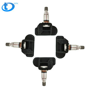 4 Pcs Tpms Tire Pressure Monitor Sensors For Mercedes Smart A0009050030q03 Us