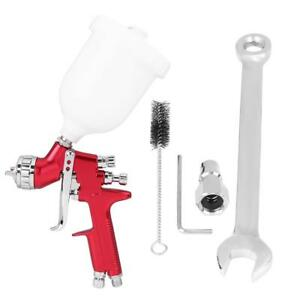 Hvlp Spray Gun Kit Gravity Feed Vehicle Car Paint 600cc Cup 1 3mm Nozzle St