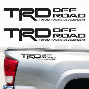 Tacoma Tundra Toyota Trd Truck Off Road Sport Decals Stickers Decal Vinyl 18 X3