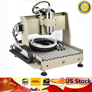 4 Axis Cnc 3040 Router Engraver 800w Engraving Milling Machine controller 400hz