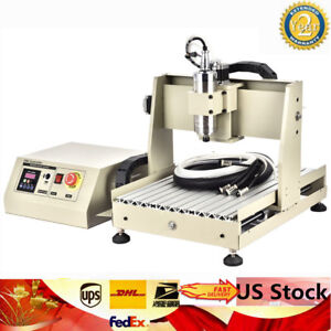 4 Axis Usb Cnc3040t Router Engraver Desktop Engraving Drilling Machine Carve Cut