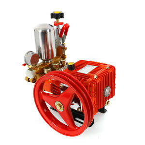 Agricultural Motor Triplex Plunger Pump High Pressure New Sprayer Pump 26 type
