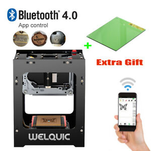 Welquic Professional Laser Engraving Machine 1500mw Bluetooth 4 0 6000mah 350dpi
