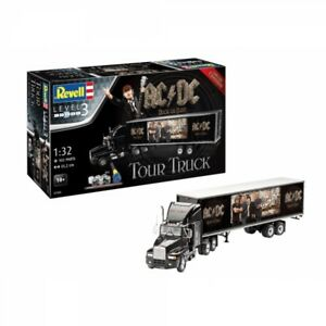 Ac dc Tour Truck Trailer Level 3 1 32 Limited Edition Revell Model Gift Set