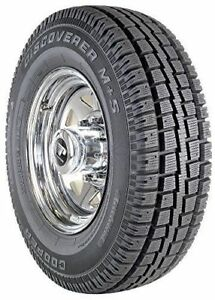 2 New Cooper Discoverer M S Winter Snow Tires Lt265 70r17 265 70 17 2657017