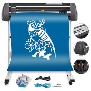 34 Vinyl Cutting Plotter Sign Cutter Usb Port Craft Cut With Stand Special Buy