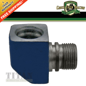 C7nne883a New Hydraulic Tube Elbow For Ford Tractor 2000 3000 4000 2600 3600