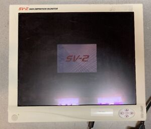 Stryker Sv 2 19 Inch Endoscopy Surgical Display Monitor W Power Supply