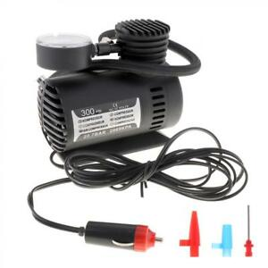 12v 300psi Electric Pump Air Compressor Tire Inflator For Motorcycles New