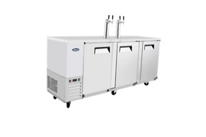 Atosa Mkc90 90 Stainless Steel Keg Cooler With Dual Faucet Tower