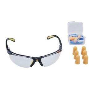 Lot Of Eight 8 Sontax Safety Glasses And Ear Plugs Combo Packages