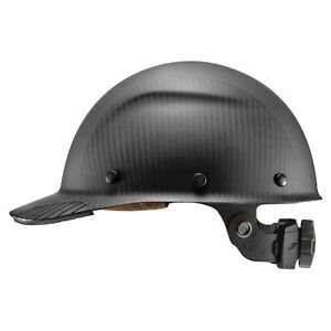 Lift Safety Hdcm 17mkg Dax Carbon Fiber Cap Style Hard Hat Matte Black