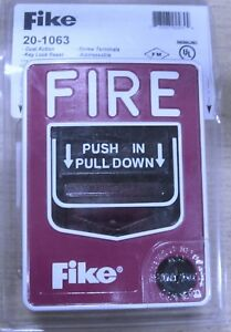 Fike Manual Fire Alarm Pull Station 20 1063 Nib