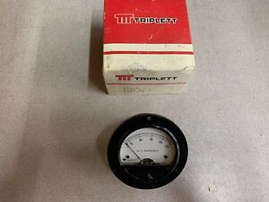 New In Box Triplett 0 25 Amp Panel Meter 153 471