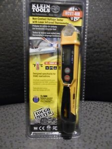 Klein Tools ncvt 4ir Non contact Voltage Tester With Laser Infrared Thermometer