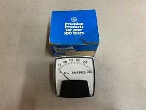 New In Box Ge0 300 Amp Panel Meter 250 3