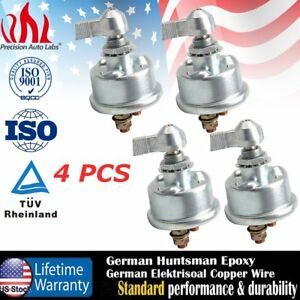 4x 2 Post Racing Master Battery Quick Disconnect Cut shut Off Safety Kill Switch