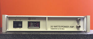 Varian Vzm6991k3 8 To 18 Ghz 20 W 40 Db Type N f Twt Amplifier Tested