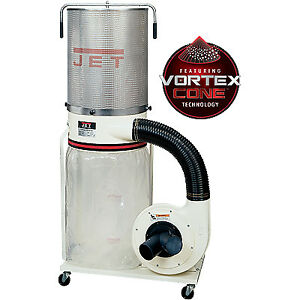 New Jet 708659k Dc 1100vx ck 1 1 2 Hp Dust Collector