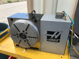 Used Haas Hrt 310 Brushless Sigma 1 Rotary Table Indexer 4th Axis For Sale